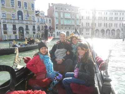 Venice - Our gondola ride