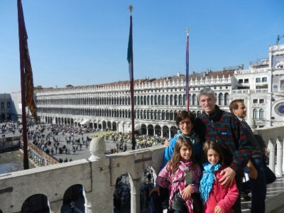 Venice - On the roof of the Doges Palace