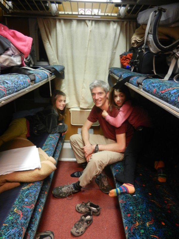 Our cabine - Zagreb to Venice