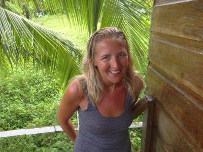 Our jungle lodge on Isla Bastimentos