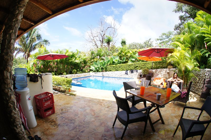 Poolside Area - Fish Eye