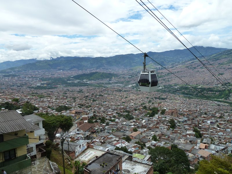 Medallin Cable Car