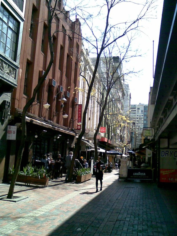 Around little Bourke Lane - Favourite part of Melbourne CBD.