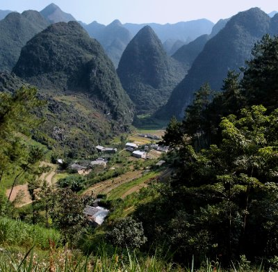 Fairytale landscapes abound in NE Vietnam
