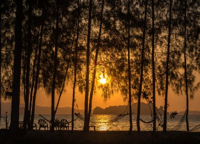 Sunset in Koh Yao Noi