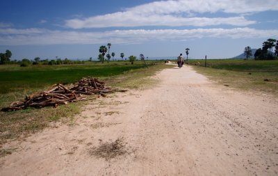 A dirt road to nowhere