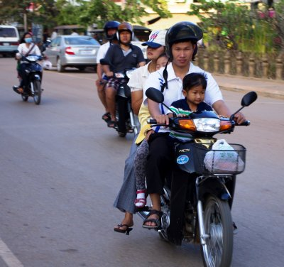 The family estate car, Cambodian-style
