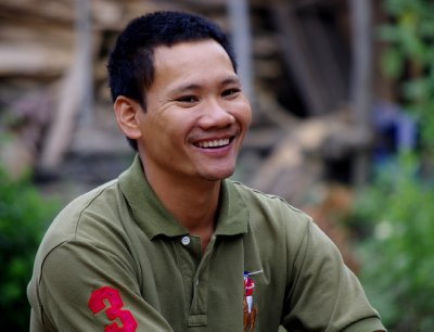 Phong, our grasshopper man