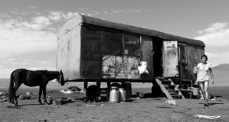 Yurt alternative at Son Kul Lake
