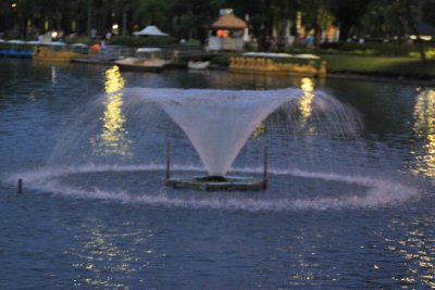 Lumphini park boating lake 2