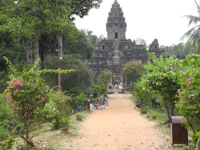 One of the many temples in Siem Reap