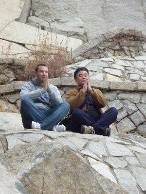 At peace on Mount Laoshan