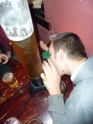 Beer tube!