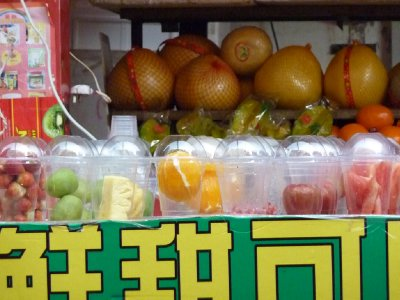 Fruits ready for blitzing!