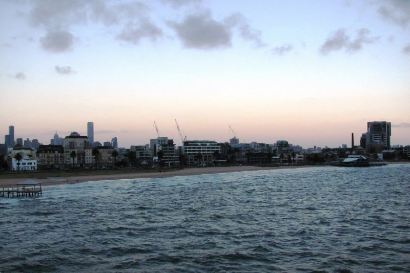 Port Melbourne from the ferry