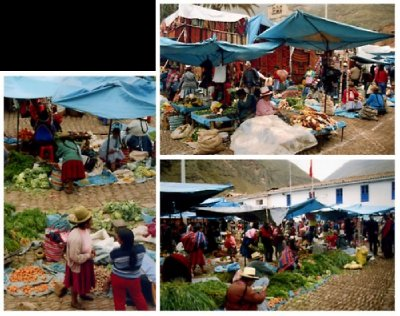 Pisac Market, Valle de Sagrado