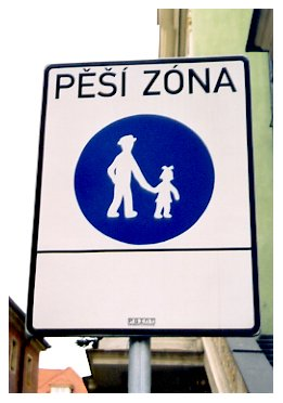 cute sign; Prague