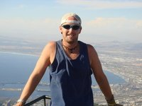 Me at the top of Table Mountain