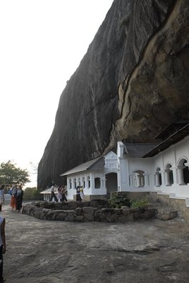 Dambulla Rock Cave temple.