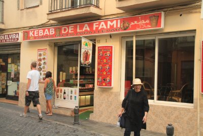 Kebab shops in Granada