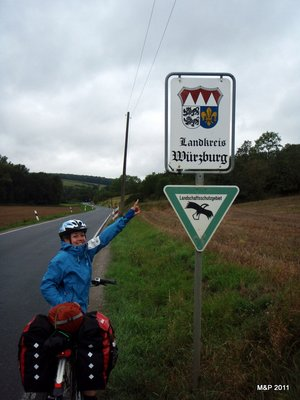 We can do it - we are in Würzburg county! (Only 90km to home)