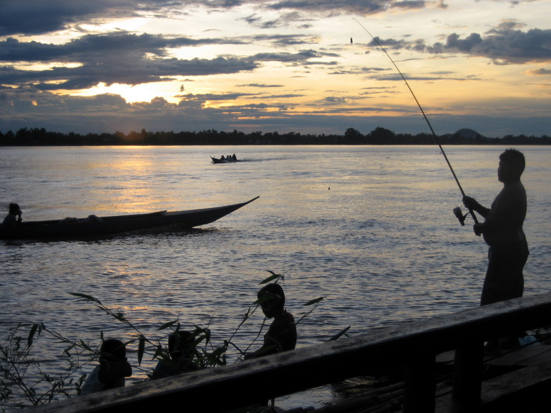 Nightfall on the Mekong