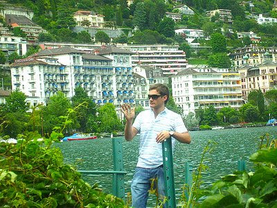 me in Montreux, Switzerland