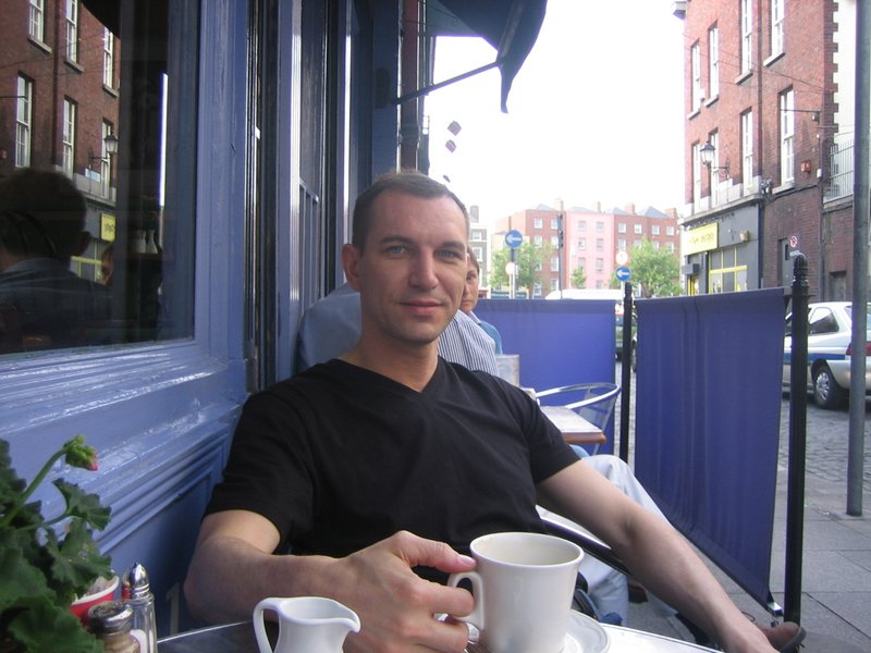 Coffee in Dublin, Ireland