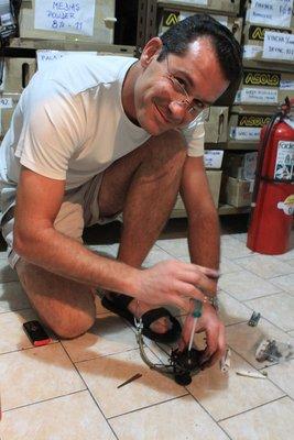 stove fixing