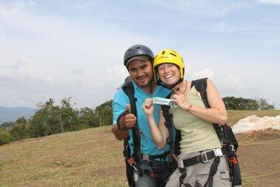 risa clif bar paragliding