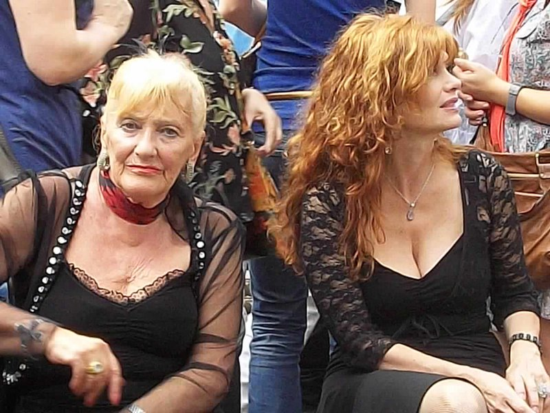old tango dancers