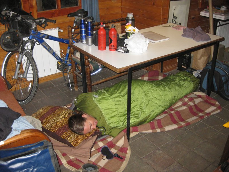 sleeping at agustin