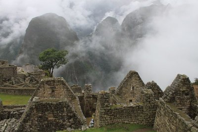Machu Pichu in the morning