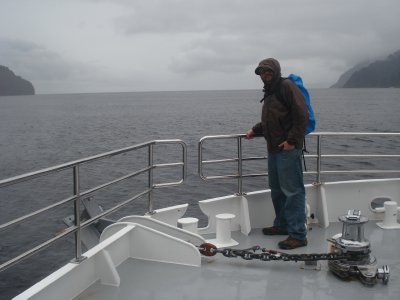 Tazman Sea from Milford Sound