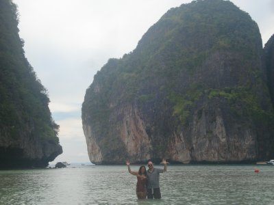 Hello from Maya Bay (&#34;The Beach&#34<img class='img' src='http://www.travellerspoint.com/Emoticons/icon_wink.gif' width='15' height='15' alt=';)' title='' />