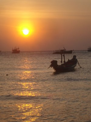 Sunset from Koh Tao