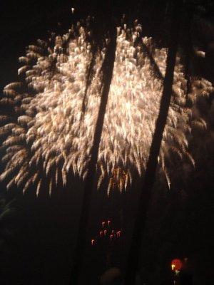 Fireworks for Tet in Nha Trang