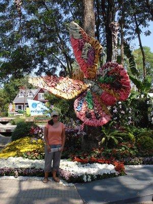 Jennifer in the Royal Flora Garden of Imagination