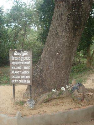 The Killing Tree at the Killing Fields