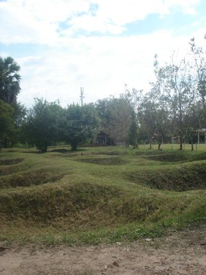Mass Grave Sites at the Killing Fields