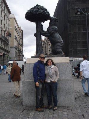 El Oso y el Madroño (Bear and Strawberry tree), symbol of Madrid.