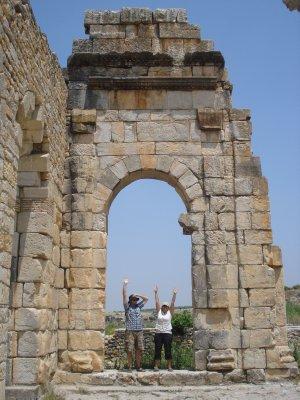 Roman Arch in Volubilis