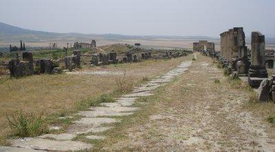Volubilis, ancient Roman city in Morocco