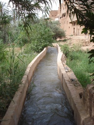 Irrigation in Southern Morocco
