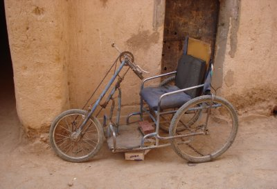 Wheelchair in Morocco