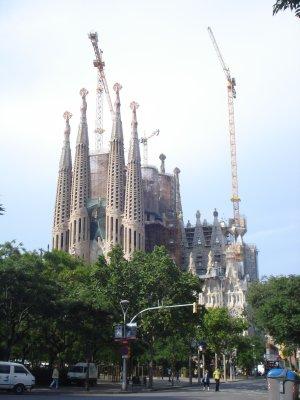 La Sagrada Familia Cathedral, Barcelona, Spain