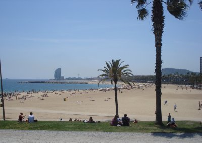 Barcelona's beautiful beach