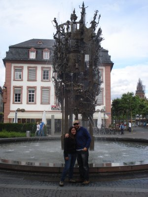 Carnival Fountain in Mainz