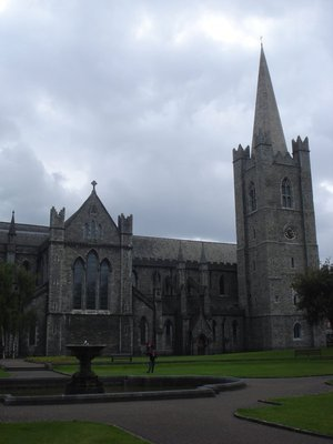 St. Patrick's Cathedral, Dublin, Ireland.  This is the exact site where St. Patrick performed his first baptisms in the 5th Century AD.