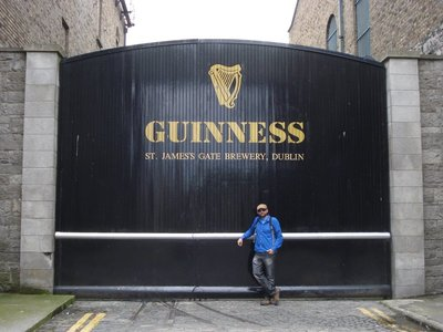 "It was interesting to stop by the Guinness Storehouse to learn about the centuries-old techniques used to create the famous ""Black Gold"""